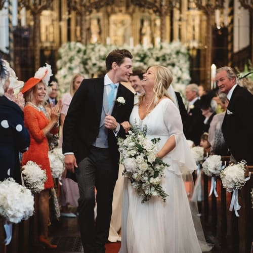 Tally and Alex's London Wedding
