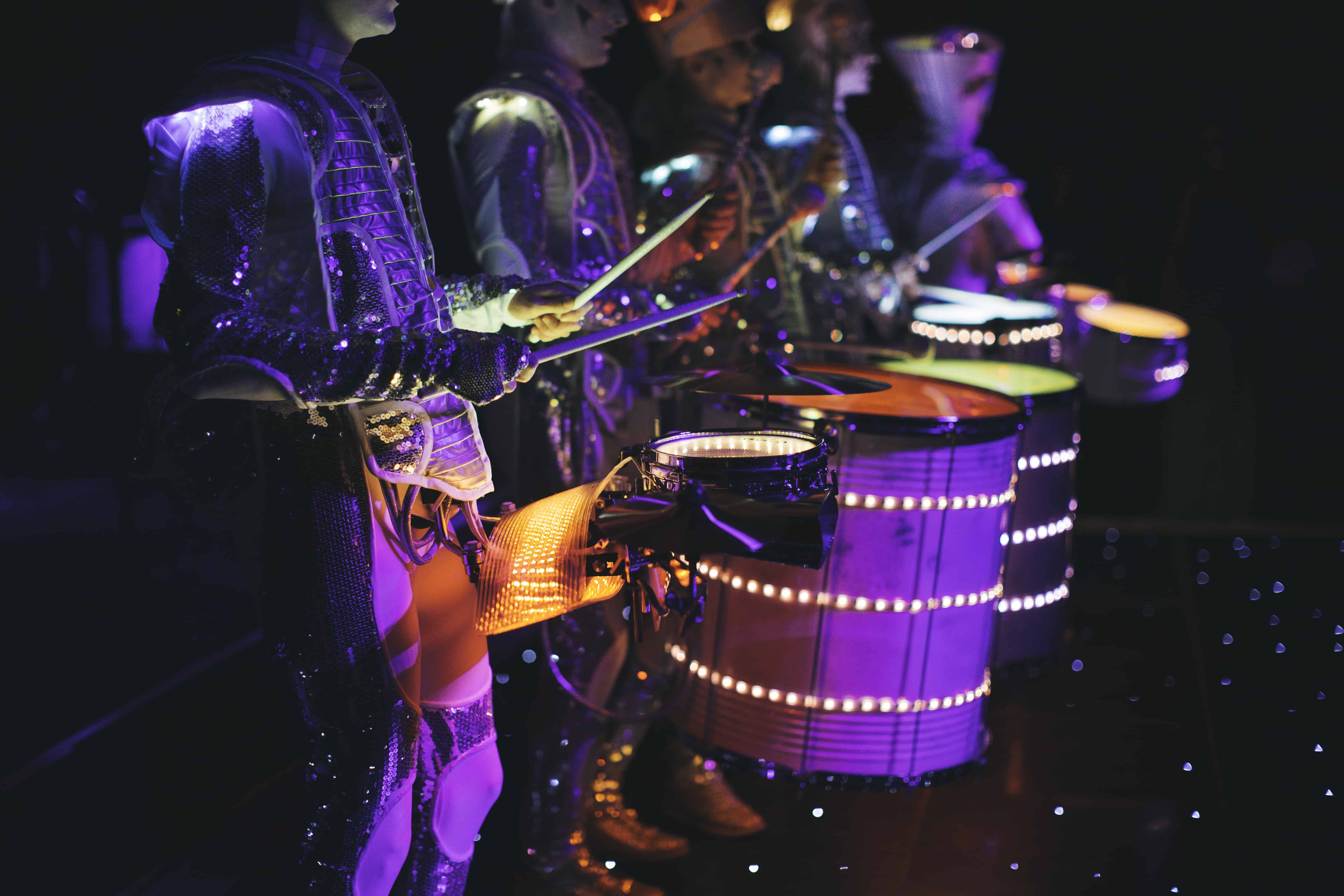 Kent 50th drummers